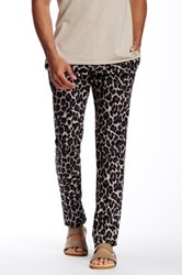 Parke And Ronen Leopard Print Lido Trouser Multi