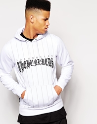 The Hundreds Wheeler Hoodie White
