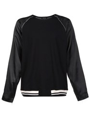 Christian Dada Long Sleeved Souvenir T Shirt Black