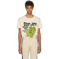 Gucci Off White Elton John 'Crocodile Rock' T Shirt