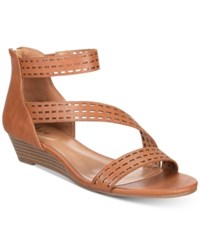 Styleandco. Style Co Giordi Wedge Sandals Coffee
