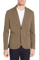 James Perse Men's Slub Jersey Blazer Platoon