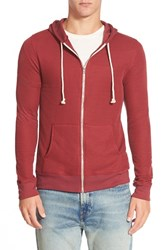 Men's Threads For Thought Waffle Knit Thermal Zip Hoodie