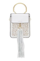 Louise Et Cie Julea Leather White Alabaster