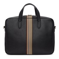 Paul Smith Black Multistripe Portfolio