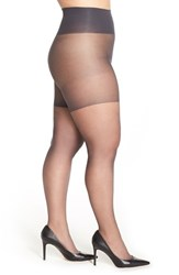 Berkshire Plus Size Women's Tummy Control Pantyhose Off Black