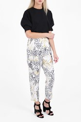 Roksanda Ilincic Women S Surikov Printed Trousers Boutique1 Wfloral Iv