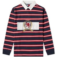 Tommy Jeans 6.0 Crest Rugby Top M22 Multi