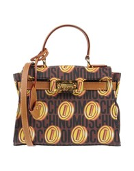 Moschino Handbags Brown