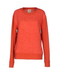 Selected Femme Topwear Sweatshirts Women Red