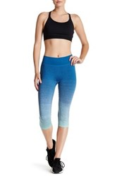 Brooks Streaker Capri Legging Blue