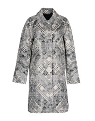 Marc By Marc Jacobs Overcoats Ivory