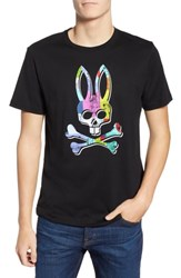 Psycho Bunny Graphic T Shirt Black