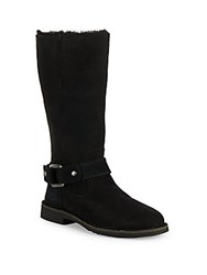 Ugg Braiden Fur Lined Boots Black