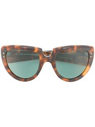 Oliver Goldsmith Y Not Sunglasses Brown
