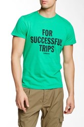 Diesel For Successful Trips Graphic Graphic Tee Green