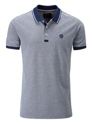 Henri Lloyd Men's Kemsing Regular Polo Mid Blue