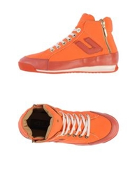 Cesare Paciotti 4Us High Tops And Trainers Coral