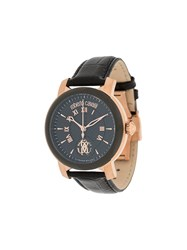 Roberto Cavalli Roman Dial Watch Black