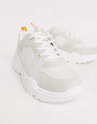 Creative Recreation Chunky Trainer In White