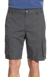 John Varvatos Cotton Cargo Shorts Gray