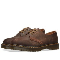 Dr. Martens 1461 Wax Commander Shoe Made In England Brown