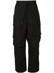 Juun.J Dropped Crotch Cargo Trousers 60