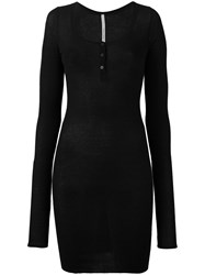 Isabel Benenato Fitted Dress Black