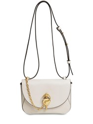 J.W.Anderson Midi Keyts Leather Bag Off White