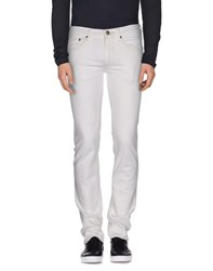 Htc Denim Denim Trousers Men White