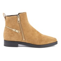 Kenzo Women's Totem Flat Ankle Boots Tan