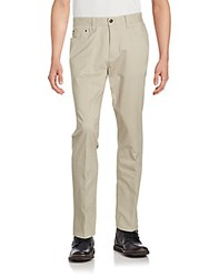 Saks Fifth Avenue Straight Leg Pants Stone