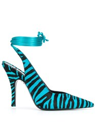 Attico Zebra Print 115Mm Heel Pumps 60