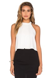 Bishop Young Cameron High Neck Tank White