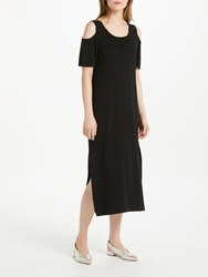 Oui Cold Shoulder Dress Black