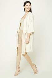 Forever 21 Draped French Terry Cardigan