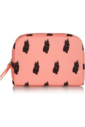 Marc By Marc Jacobs Large Printed Coated Cotton Cosmetics Case