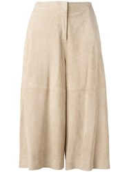 Desa 1972 Cropped Pants Nude Neutrals