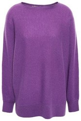 Charli Woman Cadee Two Tone Cashmere Sweater Purple