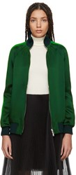 Valentino Green Zip Up Track Jacket