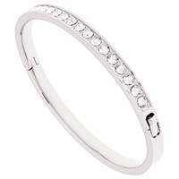Ted Baker Clemara Swarovski Crystal Bangle Silver Clear