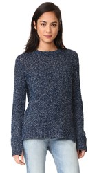 Rag And Bone Marina Crew Sweater Navy
