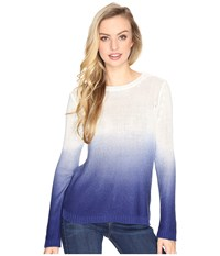 Bb Dakota Hattie Ombre Pullover Sweater Indigo Women's Sweater Blue