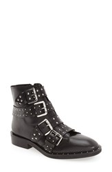 Topshop Women's 'Amy' Studded Buckle Bootie