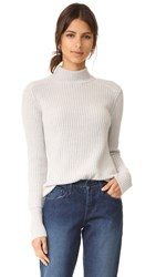 James Perse Cashmere Surplus Sweater Pearl