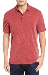 Tommy Bahama Men's Big And Tall Spectator Polo Sangria Red