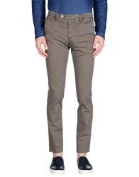 Luigi Borrelli Napoli Trousers Casual Trousers Men Dark Brown