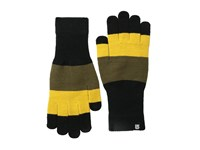 Burton Touch N Go Knit Glove Goldenrod Colorblock Extreme Cold Weather Gloves Black