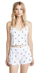 Wildfox Couture Ditsy Pj Set Clean White