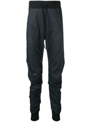 Lost And Found Rooms Pleated Leg Track Pants Grey
